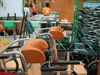 あづみの公園 車椅子