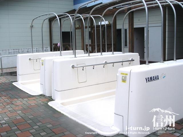 シャワーはヤマハ製の自動です。