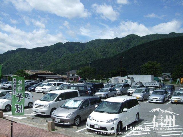 道の駅日義木曽駒高原 駐車場