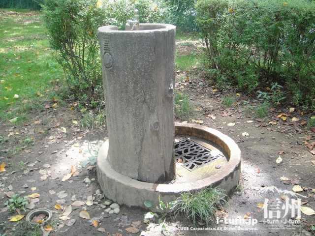 伊那公園 水飲み場
