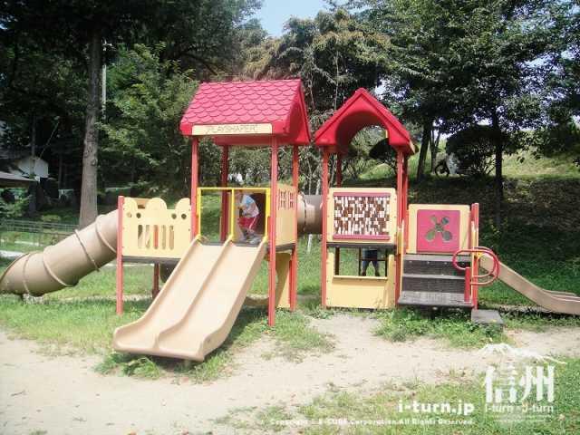伊那公園 複合遊具