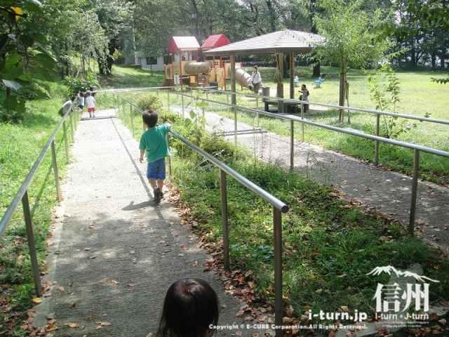 伊那公園 健康歩道