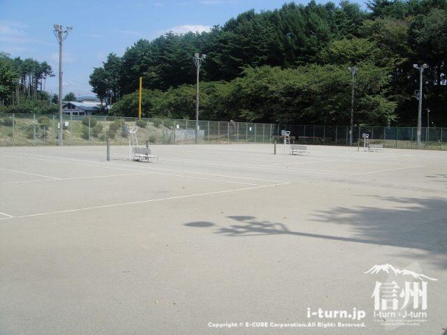 伊那公園 テニスコート