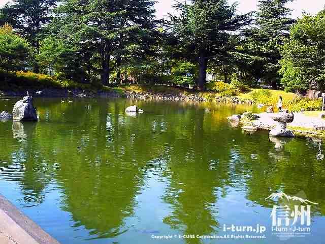 あがたの森の池