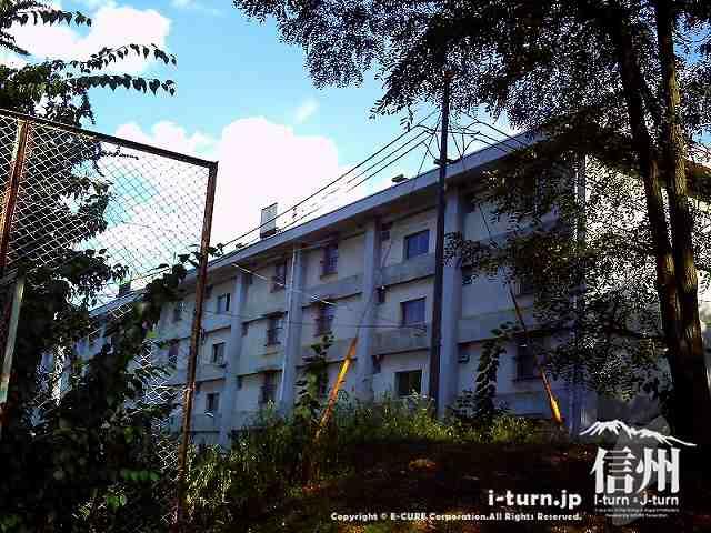 信州大学の教員用宿舎