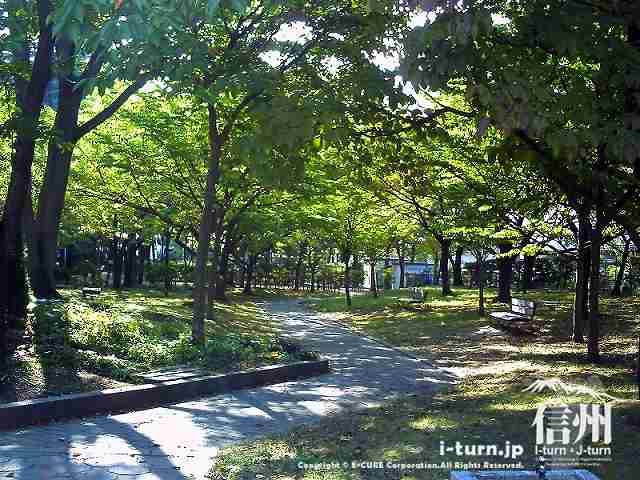 あがたの森公園 哲学の森