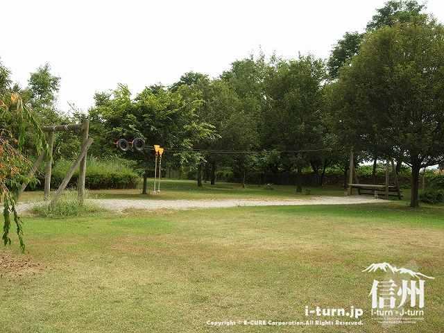 かじかの里公園 ターザン