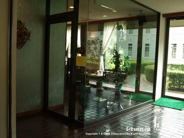 旧制松本高校記念館にある喫茶店