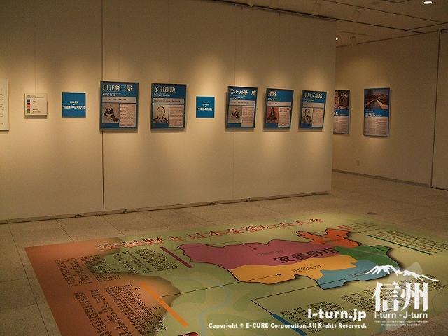 開館記念特別企画展「安曇野200年・100人の肖像展」