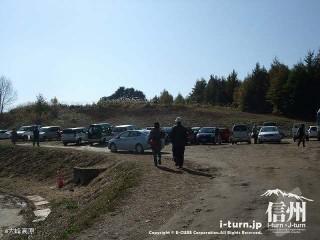 大峰高原大カエデ 駐車場