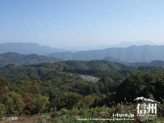 大峰高原からの風景