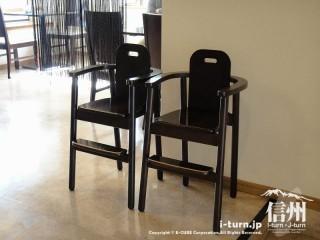 喜楽食堂の子供用椅子