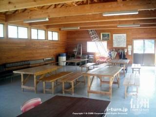 マレット管理事務所には休憩スペースがある!