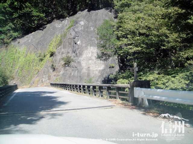 大明神釣堀センター 山室川の橋