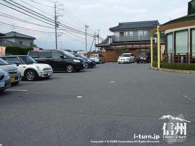 胡蝶庵 第一駐車場