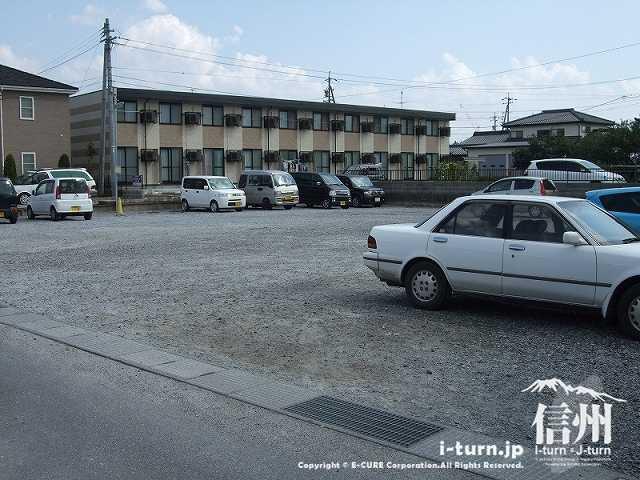 胡蝶庵 第二駐車場