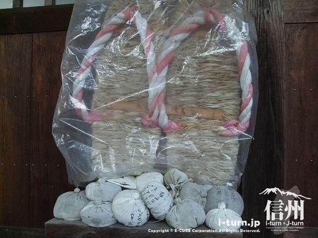 乳房観音堂 木綿で作った乳房