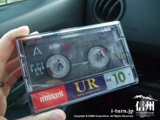 懐かしいカセットテープ(10分)
