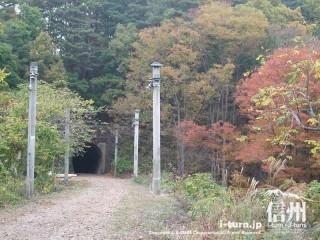 旧国鉄篠ノ井線廃線敷
