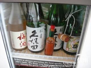 冷蔵庫には日本酒も冷やされている