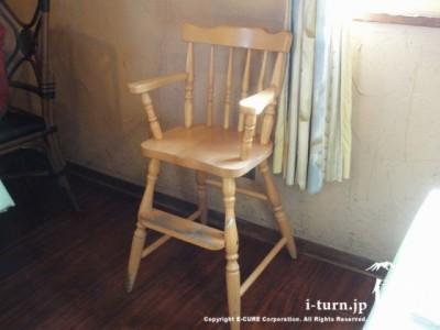 子供用の椅子もあります