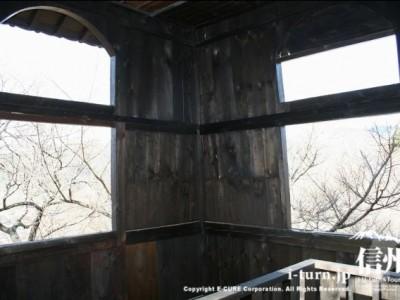 太鼓櫓の2階内部