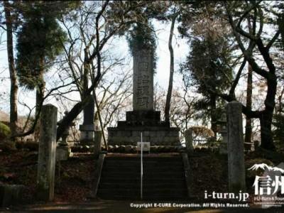 日露戦争時の招魂碑