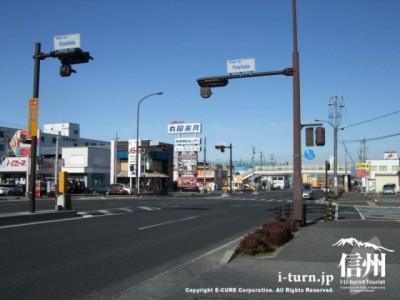 吉田の交差点