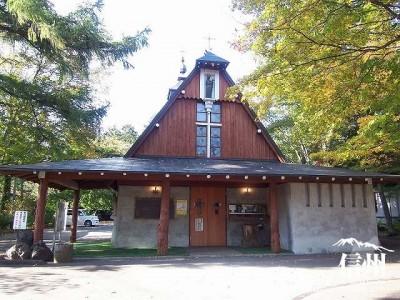 聖パウロカトリック協会 教会正面からの全景