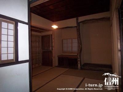 犀星の径・室生犀星記念館 居室Ⅱ