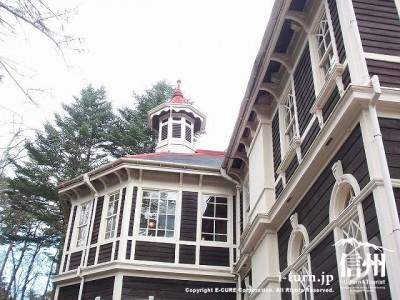 旧三笠ホテル 八角の塔屋