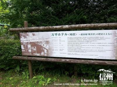 万平ホテルの歴史解説