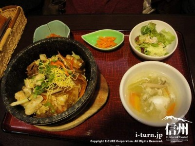 石焼プルコギ丼定食