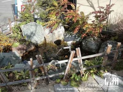 入口の小庭
