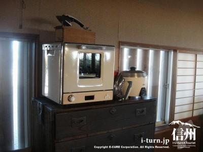 アイロンに電子レンジ、炊飯器