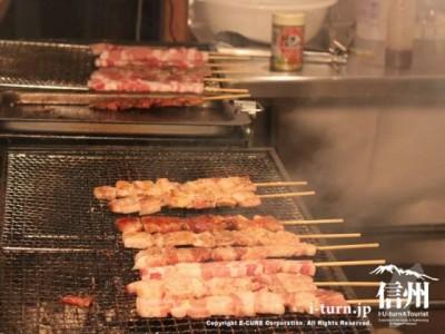 豚の串焼き