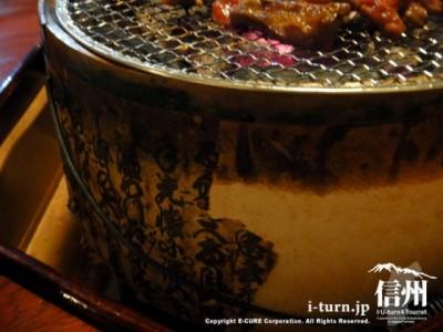漢字模様の側面