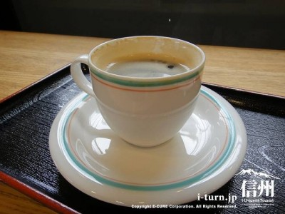 こちらが秘水仕様のコーヒー