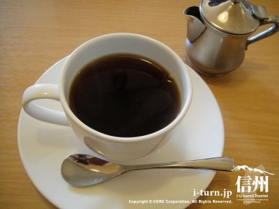 コーヒーもかなりいい感じ