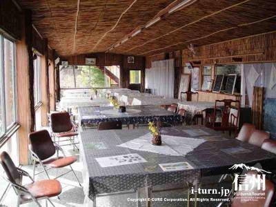 展望閣の休憩室