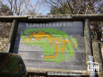 山頂の地図
