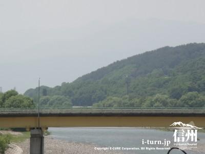 駐車場から木戸橋