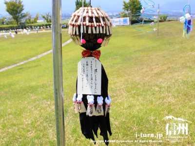 カラス・イタチ被害に悩むトウモロコシ農家さんの作品