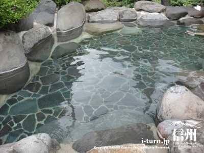露天風呂のお湯