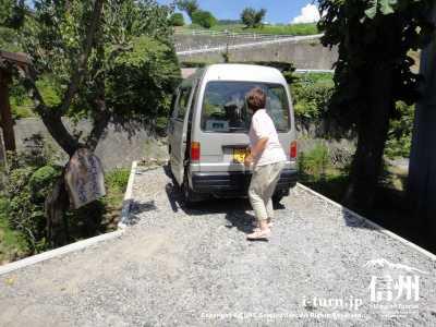駐車スペースは1台