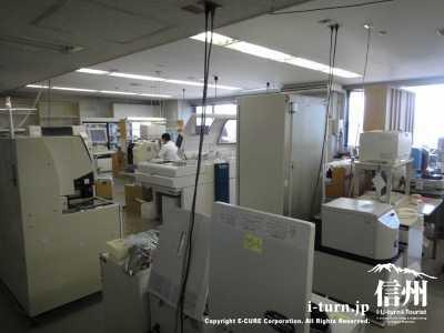 検査用の器材がたくさんあります