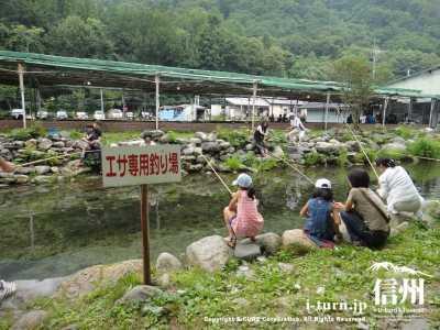 エサ専用釣り場
