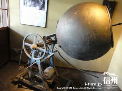昔の花林糖製造機