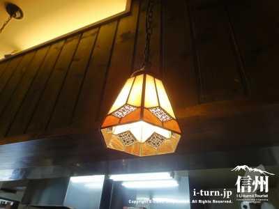 カウンターのランプ