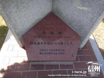 銅像の説明書き